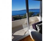 Šira okolica Makarske, apartmanska kuća sa pogledom na more